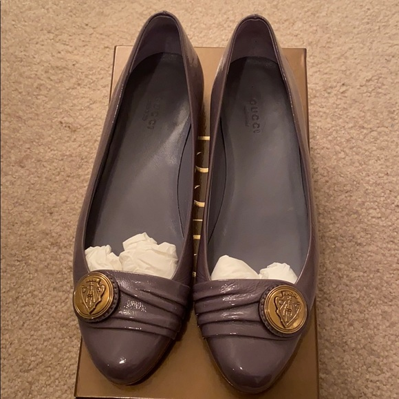 Authentic Gucci Hysteria Patten Flats